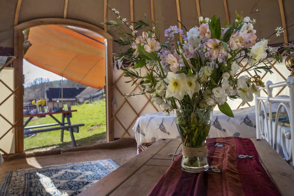Hill Farm Yurt